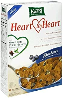 Kashi Heart to Heart Heart to Heart Cereal - Oat Flakes & Blueberry Clusters - 13.4 oz - 2 pk