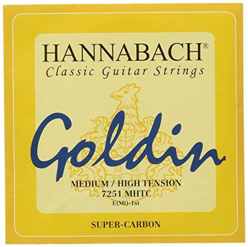 Hannabach 652721 St4W Visera Para Casco Cuerdas Para Guitarra Clásica
