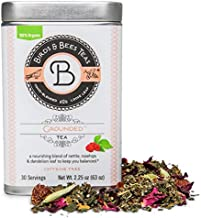 Birds & Bees Teas - Organic Fertility Tea & Pre Conception Tea, Grounded Pregnancy Tea is a Red Raspberry Leaf Blend for a Great Natural Cleanse and Detox, 30 Servings, 2.25 oz