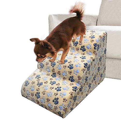 Scale per Animali Domestici 23.62x16.54x15.35 Pollici, Scale per Cani, Scala per Scale per Animali Domestici, Rampa per Cani Divano Letto Scala per Cani Gatti