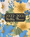 2022-2031 Monthly Planner: Ten Year Monthly Planner Agenda Schedule Organizer And Appointment Notebook 120 Months Calendar With Federal Holidays And Inspirational Quotes (Pretty Floral Design)