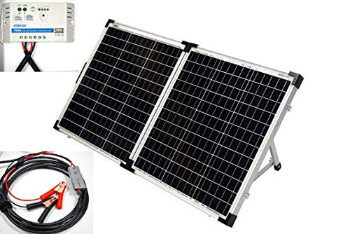 Living Leisure 100w Folding Portable Solar Panel for...