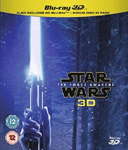 Star Wars The Force Awakens (Blu-ray 3D) [Region Free]