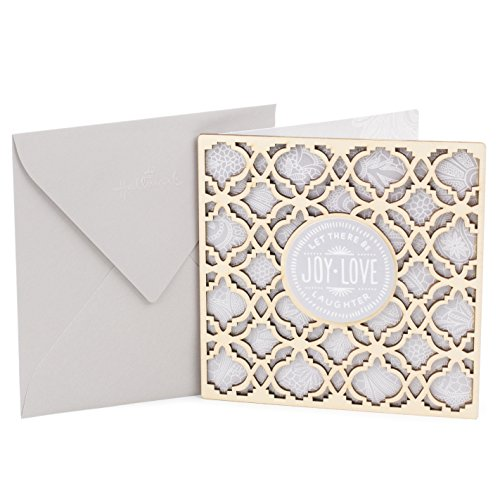 Hallmark Signature Wedding Card (Eat, Drink and Be Married) (0799RZH4040)