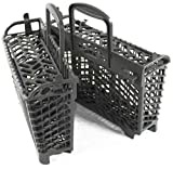 Dishwasher Silverware Basket for Whirlpool Jenn-Air Maytag