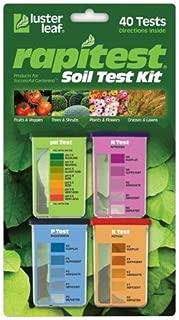 Luster Leaf 1601 Rapitest Soil KZKee Test Kit, 40 Count (2 Pack)
