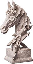 ديكور المنزل النسر منقار صغير رأس الحصان تمثال منحوتات الحيوان تمثال الحرف الحلي الحلي الديكور مكتب مكتب المنزل التماثيل