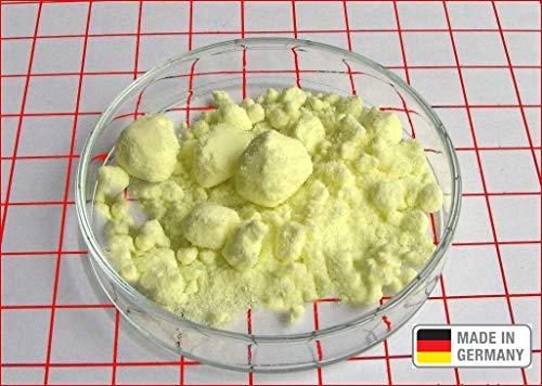 2 kg Schwefel anorganisch Schwefelpulver Schwefelpuder Mahlschwefel Sulphur 99,99% Herkunftsland Deutschland sehr rein Pharmaqualität Säurefrei