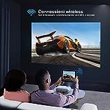 Zoom IMG-1 yaber proiettore wifi 6000 lumens