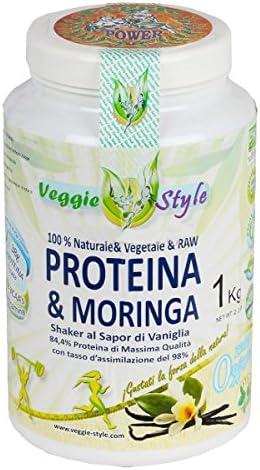 Proteina + Moringa - 1Kg - Sabor Vainilla