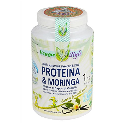 Veggie Style - Polvere Energetica Vegan Protein Shake Vaniglia