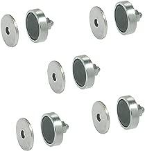 YANSHON 10x Magnetschn/äpper Schrank T/ürmagnet Magnet-Schnapper M/öbelmagnet T/ürverschlu/ß Haftmagnet Magnetverschluss Weiss