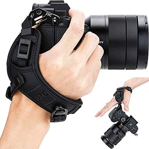 Mirrorless Camera Wrist Hand Grip Strap for Panasonic Lumix S1R S1 G95 G9 G85 G7 G6 GX9 GX85 GX8 GX7 GX850 GF7 GH5S GH5 GH4 GH3 LX100 LX100M2 DMC FZ2500 FZ1000 Mark II Leica D-Lux7 D-Lux(Typ 109) BLK