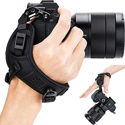Mirrorless Camera Wrist Hand Grip Strap for Nikon Z 5 6II 7II Z5 Z6 Z7 Z50 D5600 D5500 D5300 D5200 D5100 D3500 D3400 D3300 for Canon EOS R5 R6 R RP M50 Mark II Rebel T8i T7i T6s T6i T7 T6 T5 T5i SL3