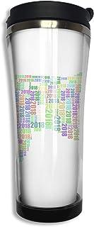 ブラックローズ ハムスター タンブラー 水筒 コーヒーカップ 魔法瓶 ふた付き ポット サーモス 水入れ カップ ボトル 直飲み マグ ステンレスボト 420ML 保熱 ウォーターカップ 真空断熱