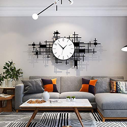 Reloj de pared – Acrílico/Metal Puntero/Personalidad/Home/Reloj, Moda Reloj de pared Salón Dormitorio Creative Reloj de pared Reloj de pared (74 x 40 cm) Mereces tener