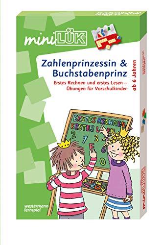miniLÜK-Sets: miniLÜK-Set: Vorschule/1. Klasse - Mathematik, Deutsch: Zahlenprinzessin & Buchstabenprinz: Kasten + Übungsheft/e / Vorschule/1. Klasse ... (miniLÜK-Sets: Kasten + Übungsheft/e)