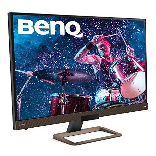 BenQ EW3280U Monitor PC per Intrattenimento Video, Risoluzione 4K UHD, Tecnologia IPS e HDRi, Provvisto di Prese USB-C e HDMI, 32 Pollici