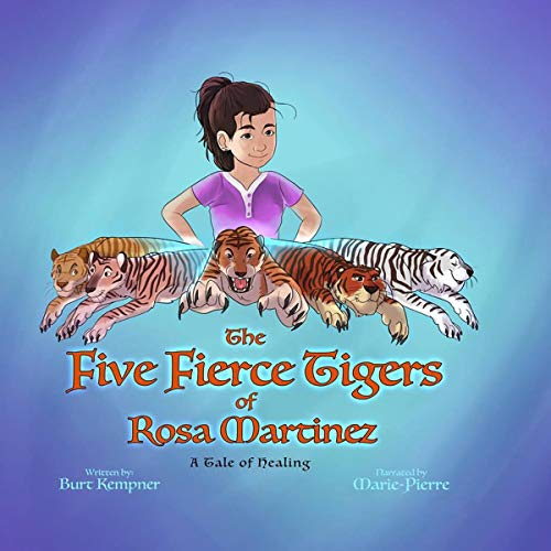 The Five Fierce Tigers of Rosa Martinez audiobook cover art