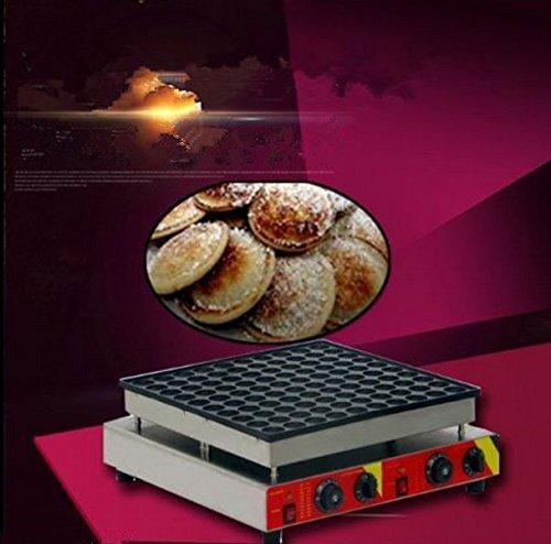 Commercial 100pcs Electric Poffertje Mini Dutch Pancake Machine Maker Iron Baker
