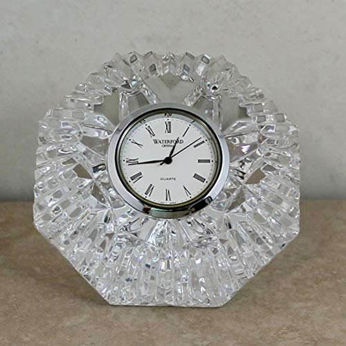 Waterford Crystal Classic Lismore Diamond Clock
