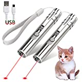 GO! Rechargeable Pet Training Exercise Chaser Tool, 3 Mode,Cat Light Toy (2 Packs)