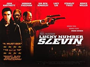 Lucky Number Slevin Movie Poster (30 x 40 Inches - 77cm x 102cm) (2006) -(Josh Hartnett)(Bruce Willis)(Stanley Tucci)(Morgan Freeman)(Ben Kingsley)(Lucy Liu)