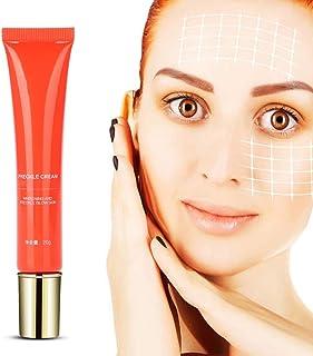 Crema para aclarar la piel Crema pecosa para manchas antiedad y manchas oscuras blanqueamiento blanqueador para cara man...
