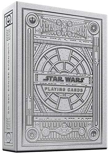 theory11 Star Wars Playing Cards Silver Edition - Light Side (White) (STAR-WARS-WHITE-T11)