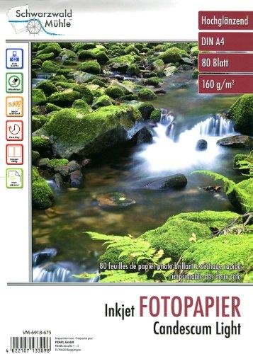 Schwarzwald Mühle A4 Fotopapier: 80 Bl. Fotopapier