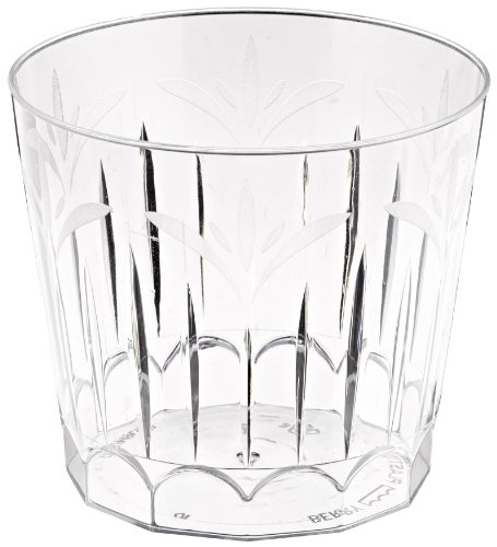 Legacy Plastic Old-Fashioned Tumbler, 9-Ounce, Clear (240-Count)