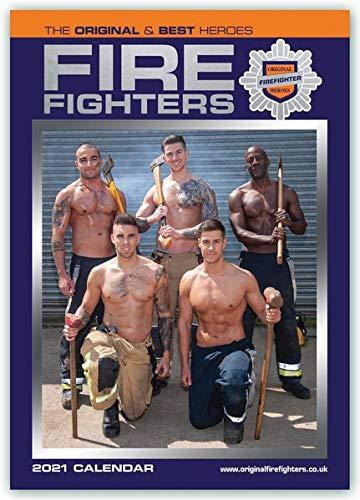 Fire Fighters - Feuerwehrmänner 2021 - A3 Format Posterkalender: Original Carousel-Kalender [Mehrsprachig] [Kalender] (A3-Posterkalender)