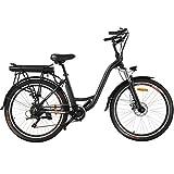 Speedrid Bicicletta elettrica da Città ebike 26'con Batteria Rimovibile agli ioni di...