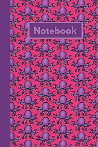 Origami Octopus Notebook: Octopus Themed Composition Lined Journal, Ideal for any Aquarium Hobbyists or Teuthologist. (Can be Used as A Marine Coral Reef or Study Log)