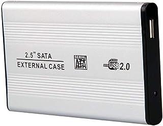 DARAHS UltraSlim 2.5 Inch SATA to USB 2.0 External Hard Drive Enclosure/case/casing (Color May Vary)