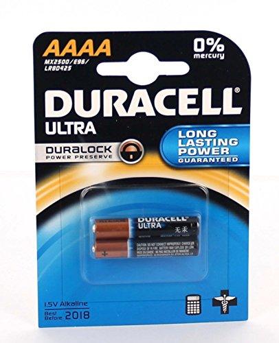 Original Batterie für Duracell Ultra MN2500 LR61 AAAA Original