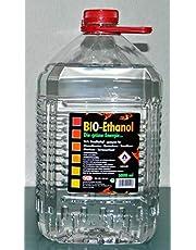 5 liter bio-ethanol, 96% biologische alcohol, groene energie, open haard ethanol.