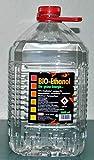 5 Liter Bioethanol,96% Bio Alkohol, die grüne Energie, Kamin Ethanol