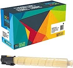 Do it Wiser Compatible Toner Cartridge Replacement for Ricoh Aficio MP C5000 MP C4000 Lanier LD540C LD550C | 841285 (Yellow - 17,000 Pages)