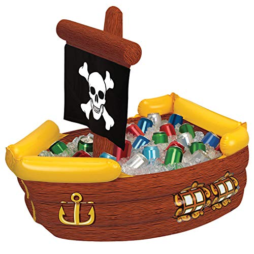 Beistle 50989 Inflatable Pirate Ship...