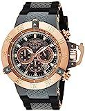 Invicta Men's Subaqua Noma III Quartz Watch with Silicone Strap, Gray, 29 (Model: 0932)