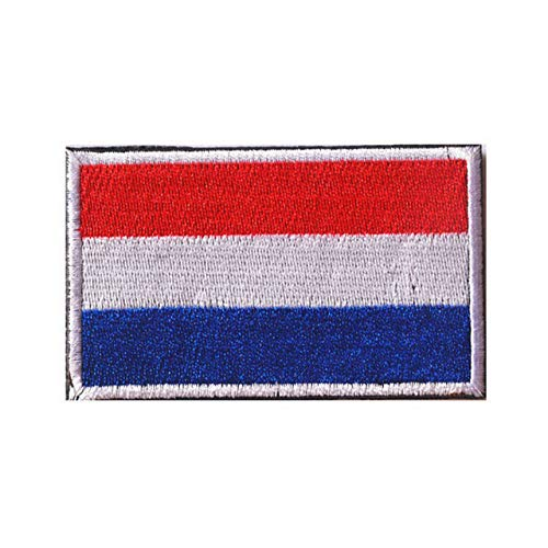 Holland Nederland Vlag Geborduurde Airsoft Paintball Cosplay patch