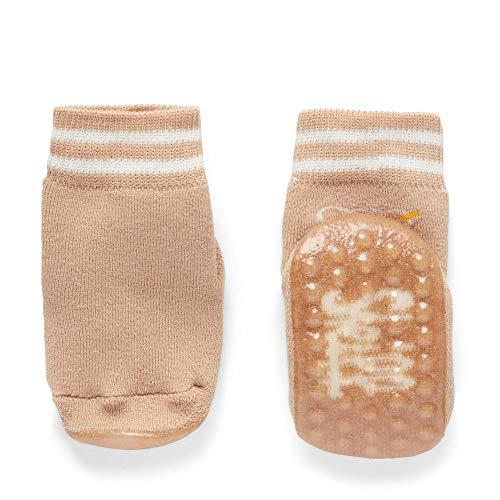 Steiff Baby-Unisex Socken, Braun (Sesame 1015), 13 - 14