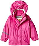 CareTec Chaqueta Impermeable Unisex Niños, rosa (Real pink 546), 9 meses