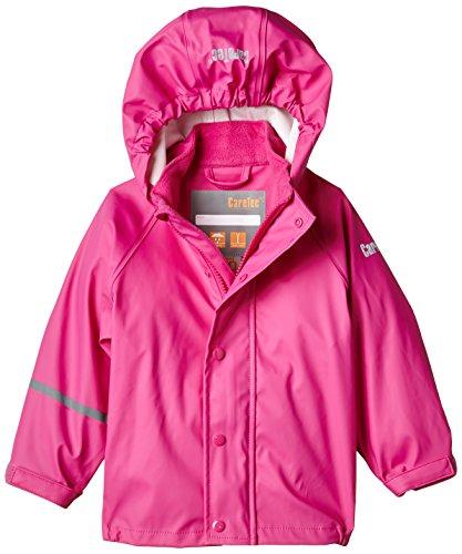 CareTec Kinder wasserdichte Regenjacke,Rosa (Real pink 546), 74 (9 monate)
