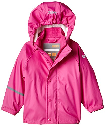 CareTec Kinder wasserdichte Regenjacke, Rosa (Real pink 546), 18 Monate/86 cm