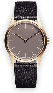 Uniform Wares Women's C33_SGO_W1_CGR_BLK_1816S_01 Year Round Analog Quartz Black Watch