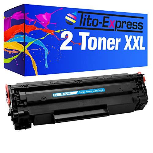 Tito-Express Platinum Serie 2 Toner cartridges XXL Black compatibel met HP CF279A 79A CF 279A CF279 279 79 A CF-279A Laserjet Pro M12 M12A M12W M26 M26A M26NW Series