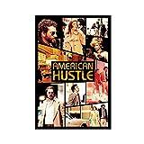 Kriminalfilm American Hustle 3 Leinwand-Poster, Wandkunst,