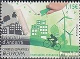 Prophila Collection Andorra - españolas Correos 438 (Completa.edición.) 2016 Medio Ambiente (Sellos para los coleccionistas) Bicicletas